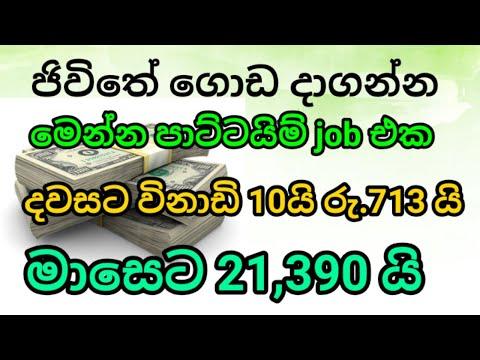 earn money online sinhala | e money sri lanka | Best part time job | iq option | in lkjobs