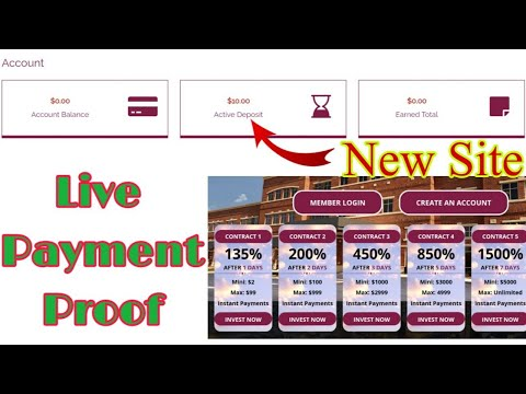 New Hyip Thechrist-clinic.com Live Payment Withdraw Proof | Make Money Online