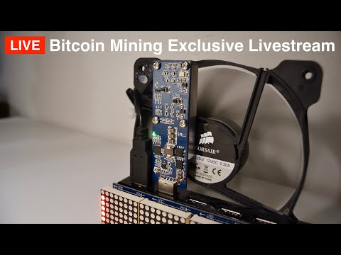 Bitcoin Mining Exclusive Livestream Behind The Scenes