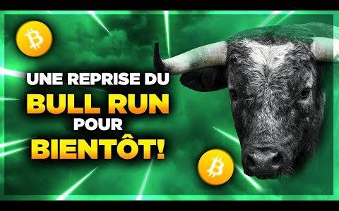 BITCOIN : UNE REPRISE DU BULL RUN POUR BIENTÔT ! 🚀
