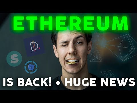 Ethereum is Back! ETH and DeFi Will EXPLODE | PAID Network Hack | Crypto News