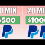 Free App Pays You $1,000 in PayPal Money (Make Money Online)