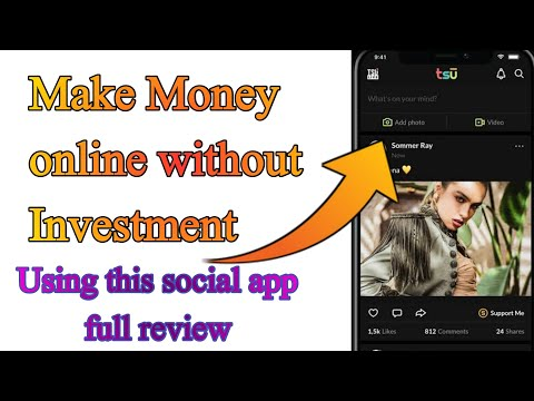 Make money online without investment || Full review of Tsu Application || Earn money Tsc app easily