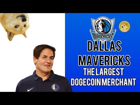 DOGECOIN | DALLAS MAVERICKS THE LARGEST DOGECOIN MERCHANT?!! | CRYPTOCURRENCY NEWS