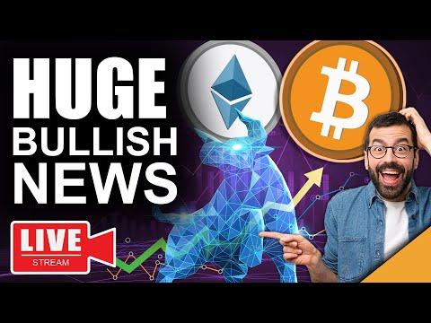 HUGE BULLISH News For Bitcoin & Ethereum (Last Chance For Investors)