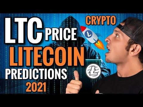 Litecoin Price Predictions 2021: LTC Crypto: Cryptocurrency News Today