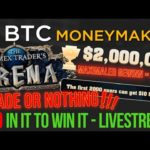 BITCOIN BREAKOUT LIVE ANALYSE!!!!! -- News und Q & A!! JOINT DER COMPETITION!