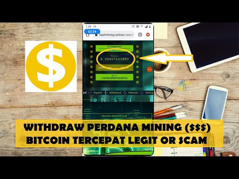 Bukti Withdraw Mining Bitcoin Di Fastmining | 7000 SBTC Cair Atau Scam