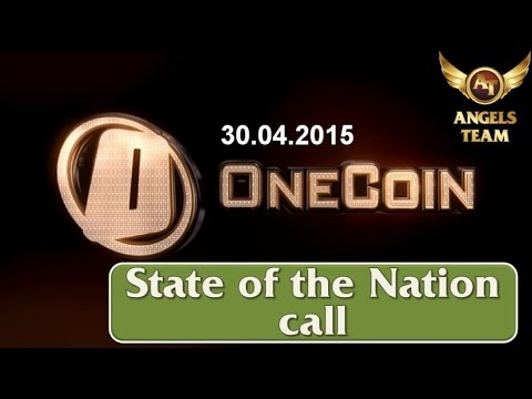 OneCoin State of the Nation call. April 30, 2015