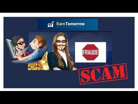 Earn Tomorrow (SCAM) Fraude - (E outras dúvidas):