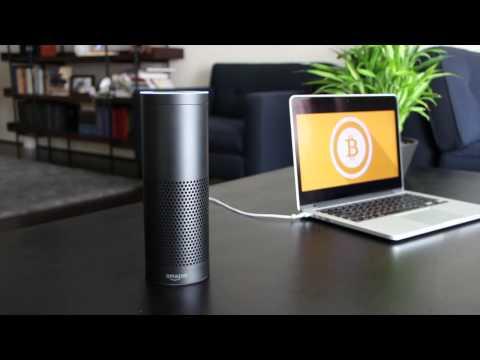 Amazon Echo Bitcoin Demo