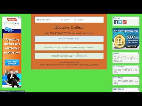 Биткоин кран Bitcoins Collect – каждые 120 мин 500, 800 или 5.000 сатоши !!!