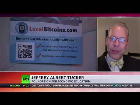 Jeffrey Albert Tucker Discusses 'MMM' Bitcoin Scam on RT International