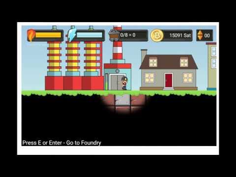 Bitcoin Mining Game - Ingame Live Playing deutsch