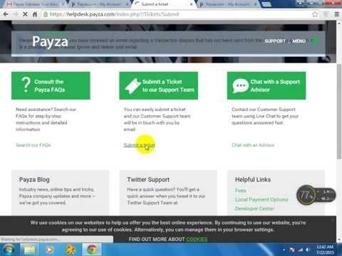 payza verify account urdu and hindi