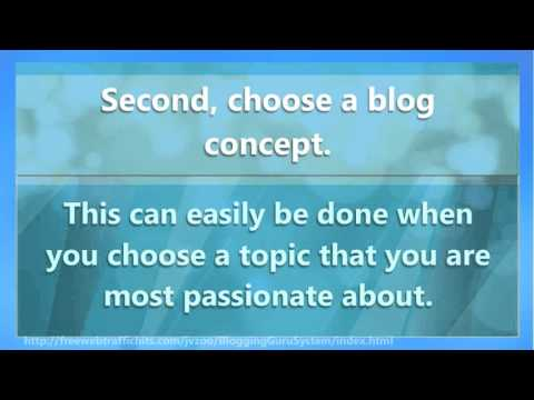 Start To Make Money From Home Blogging Today!