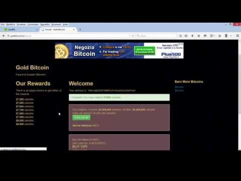 Gold Bitcoin 28 000 Satoshi every hour: BIG SCAM! Don't waste your time with this faucet