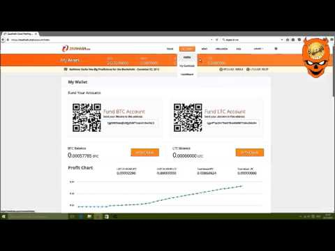 Zeushash.com / Bitcoin Cloudmining / 202 GH/s Account / Payout proof / 12/03/15 Video 2