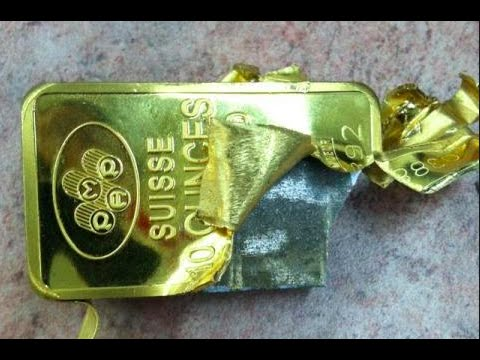FAKE GOLD WARNING – Pamp Suisse GOLD Bars with TUNGSTEN found in NYC