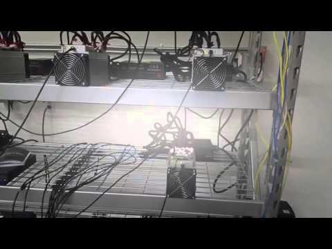 Bitmain S7 Antminer Bitcoin mining farm ***update***