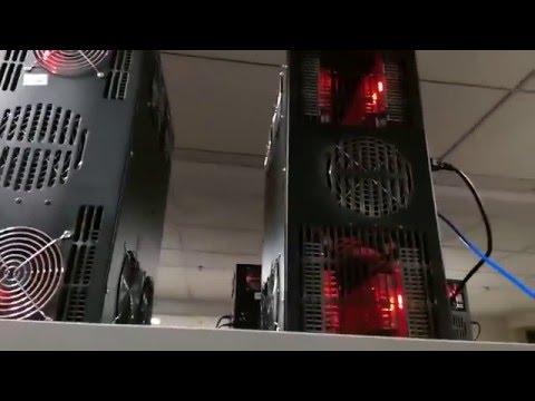 Mining Rig Bitcoin Mining Farm