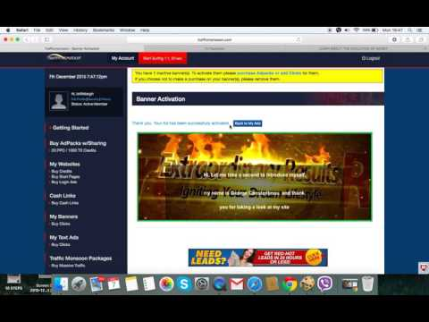 Traffic monsoon video to explain how easy it is to make money online!