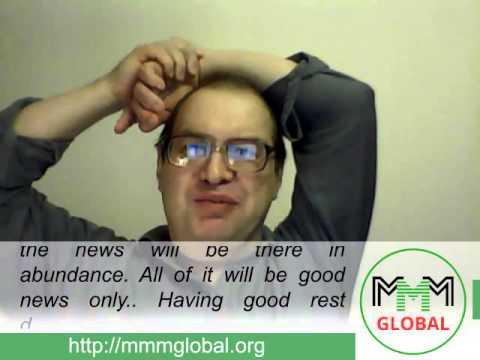 MMM Global, weekly news from Sergey Mavrodi