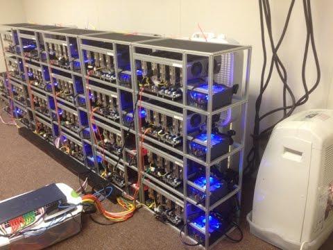 ☢ 16 MHs Litecoin 24 GHs Bitcoin Mining Farm ASIC vs GPU Technology ☢