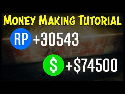 GTA 5 Online MONEY MAKING GUIDE! Best Ways to Make Money for the