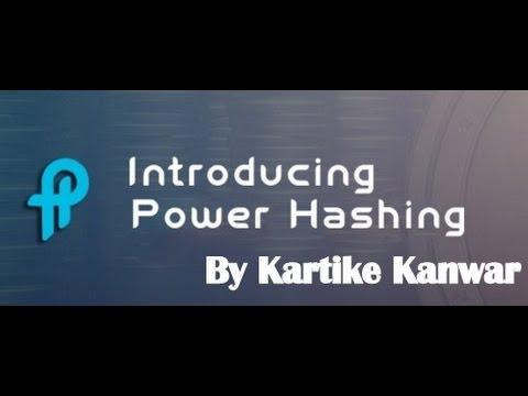 Earn Bitcoin - Power Hashing - English Presentation JOIN FREE by Kartike Kanwar - +91 9999897808