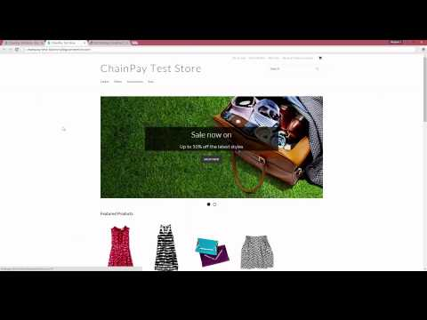 Accept Bitcoin with BigCommerce Tutorial - ChainPay
