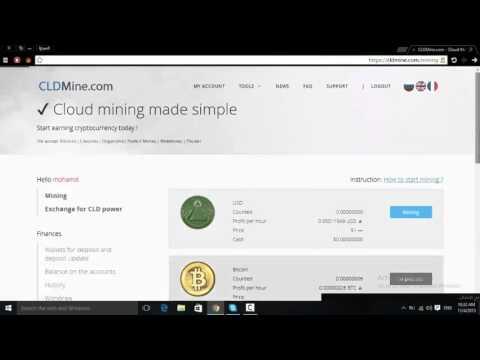 bitcoin mining  CLD Mine